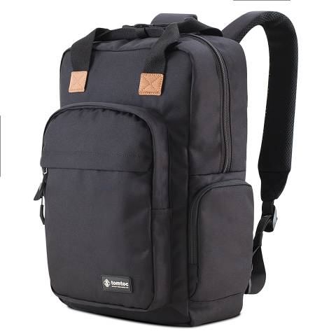 Balo Tomtoc (USA) Daily Backpack For Ultrabook 15'/22L- Black (A60-E01D)
