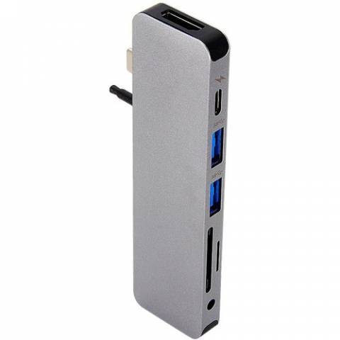 Cổng Chuyển HyperDrive SOLO 7-in-1 USB-C Hub For MacBook/PC & Devices (GN21D)